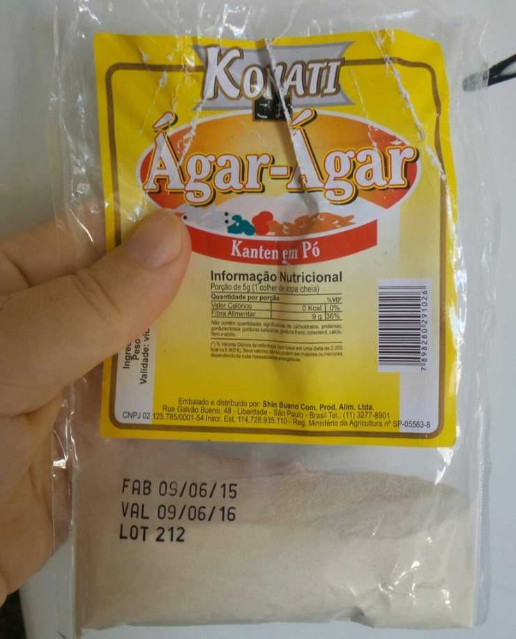 Агар агар польза и вред