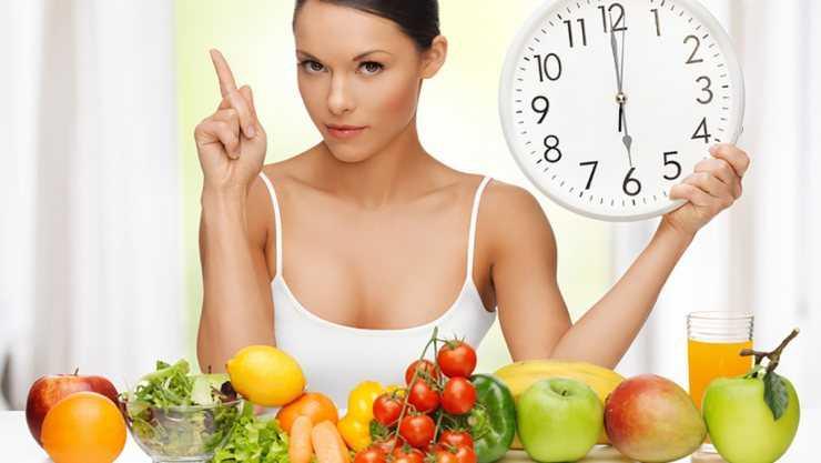 Диета с овощами фруктами и раст маслом