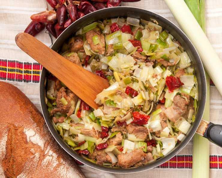лук порей как самостоятельное блюдо рецепты с фото внимание посетителей