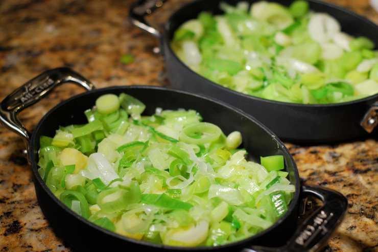 хочу лук порей как самостоятельное блюдо рецепты с фото пример